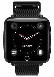 Lenovo Carme Smart Watch (Black)