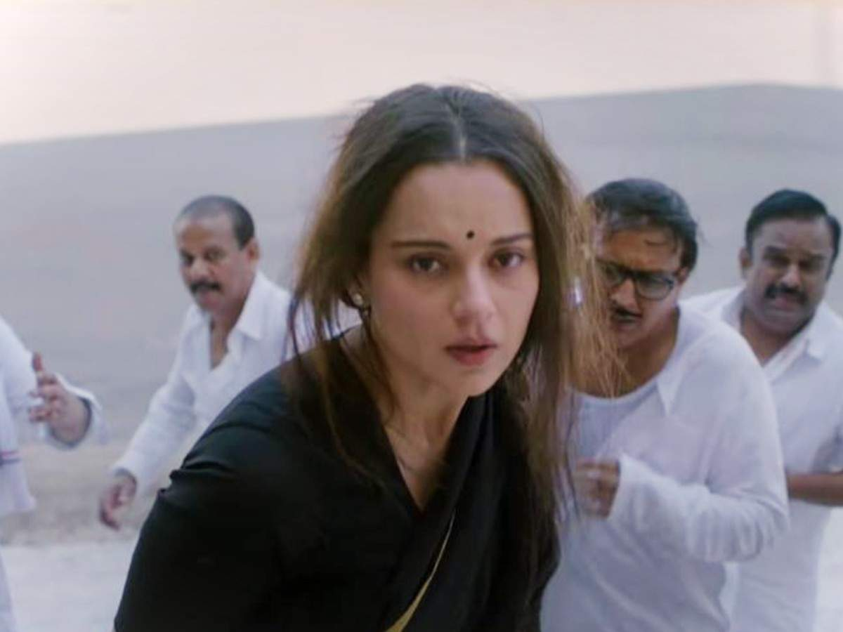 Thalaivi' trailer fans reaction: 'Parliament scene is enough for Kangana Ranaut to bag the 5th National Award' says a fan | Tamil Movie News - Times of India