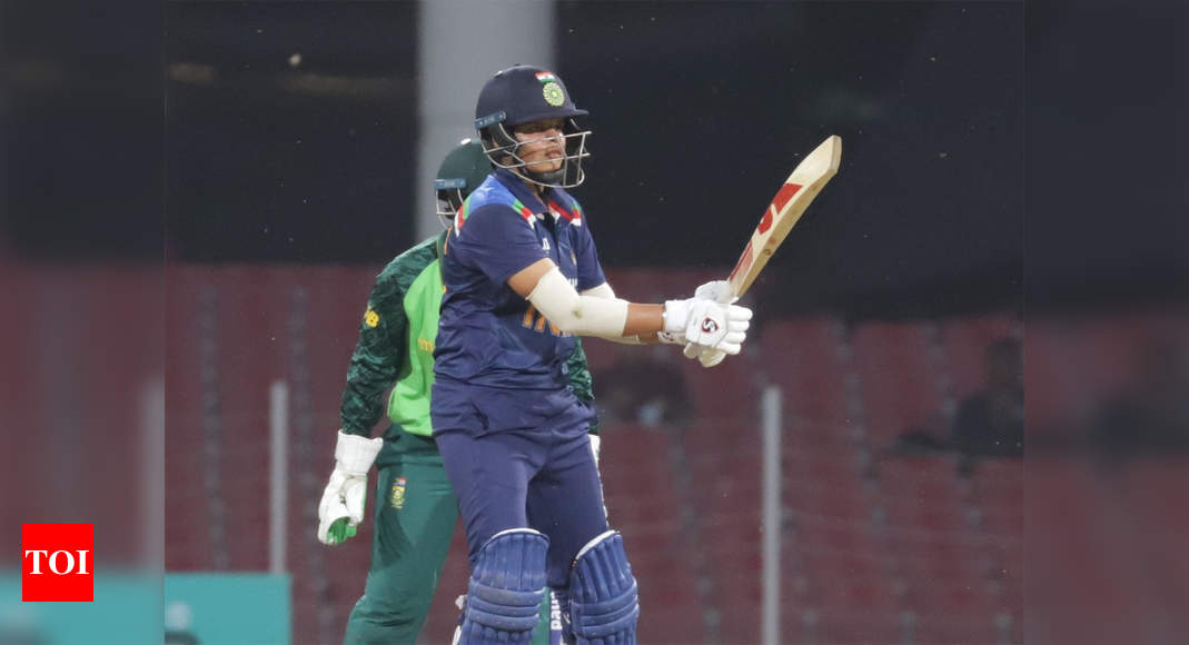 3rd T20I: India Women notch up consolation 9-wicket win over SA Women   Cricket News – Times of India