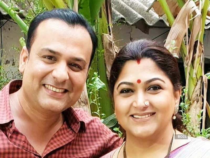 Arvind Kathare gets nostalgic as he shares a 20-year-old throwback picture featuring Khushbu Sundar; read post (Photo - Instagram)
