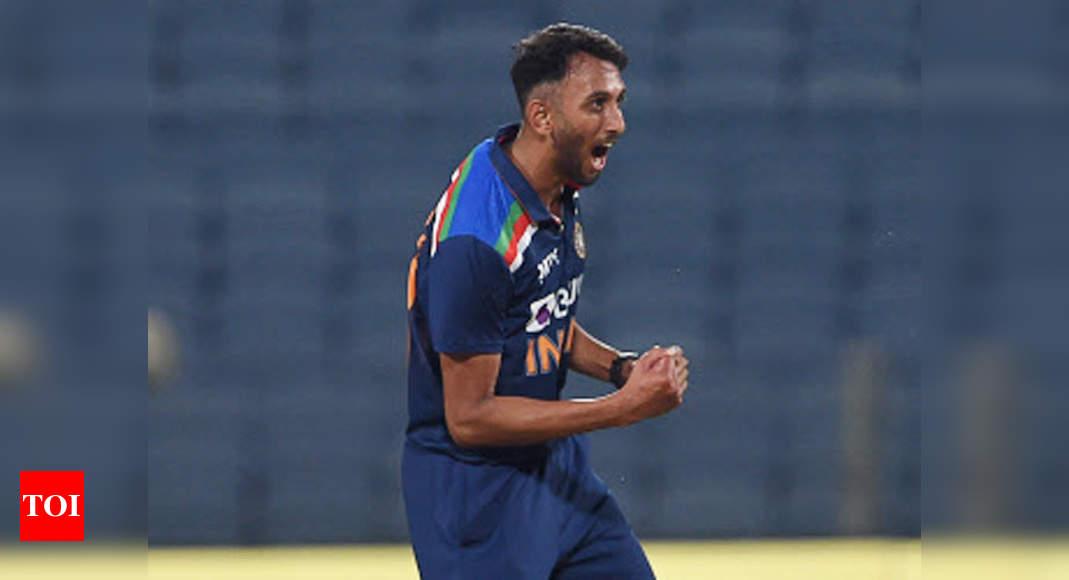Prasidh Krishna ready for the long international haul   Cricket News – Times of India