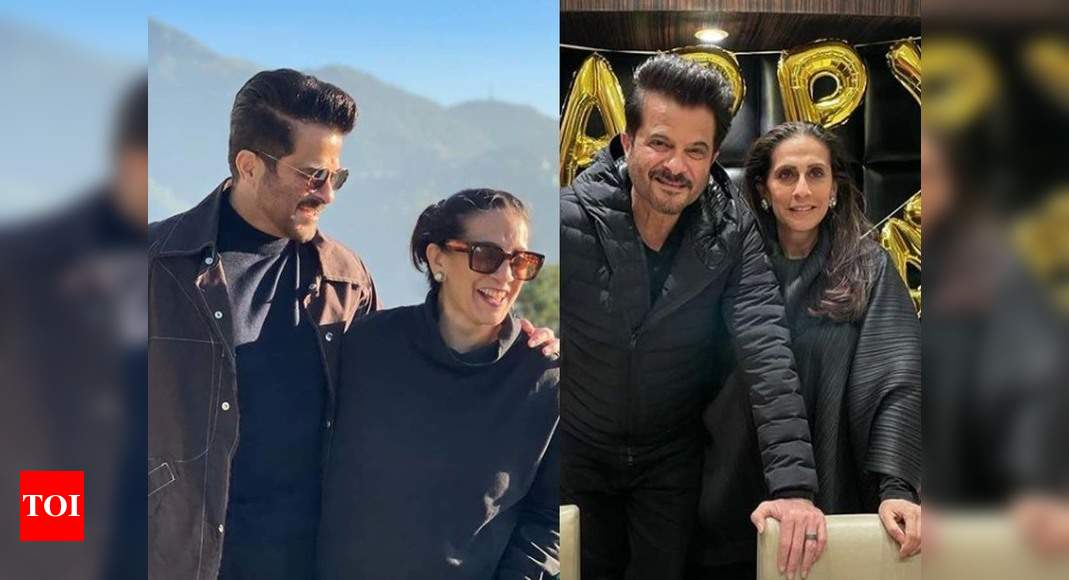 Anil Kapoor pens a heartfelt note for his wife Sunita Kapoor on her birthday: I feel blessed to have you as my soul mate – Times of India