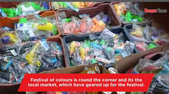 Markets in Kanpur get geared up for Holi