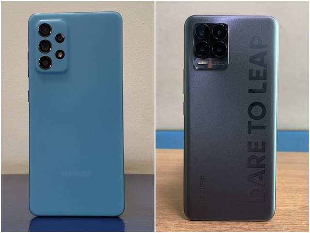 Realme 8 Pro vs Samsung Galaxy A52: Which Snapdragon 720G phone is better