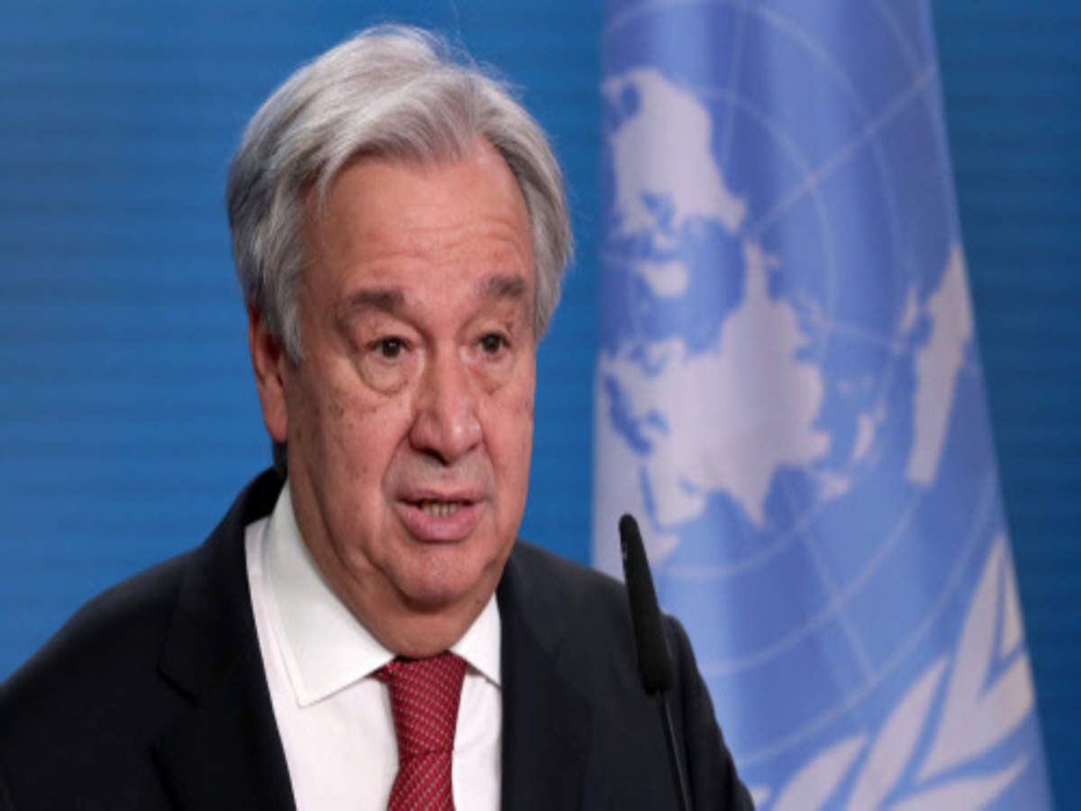 Antonio Guterres UN chief calls anew for foreign 'elements' to ...