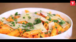 Watch: How to make Pasta in Harissa Sauce