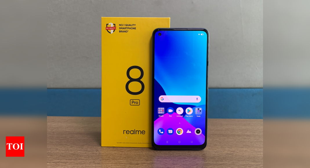 Realme to launch affordable 5G smartphones under Realme 8 series – Times of India
