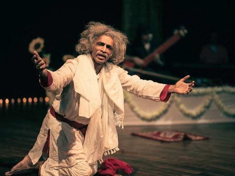 Makarand Deshpande in a still from 'Krishna'