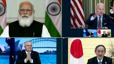 Strongly opposed to the Quad alliance: China | India News