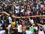 Chariot festival held at Kapaleeswarar and Marundeeswarar temples