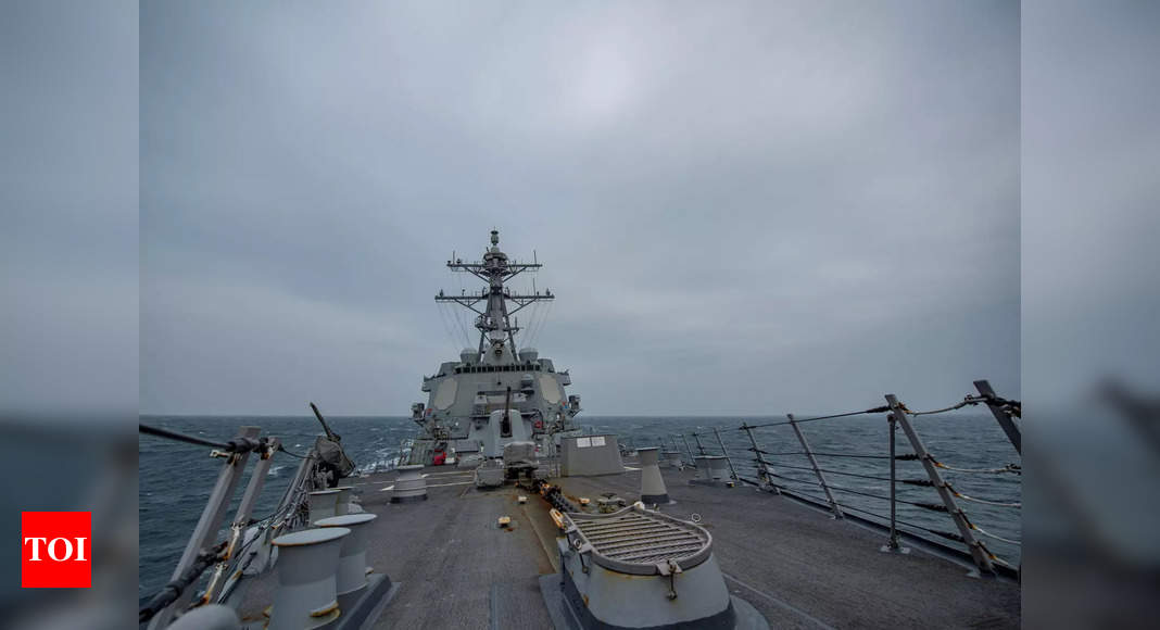 US, Taiwan sign coast guard deal to Counter China – Times of India