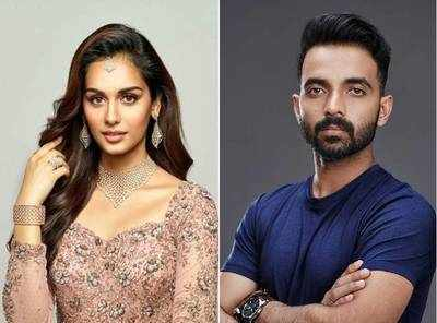 Manushi Chhillar and Ajinkya Rahane