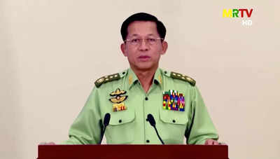 Myanmar's junta says will strive for democracy after warning anti-coup  protesters - Times of India