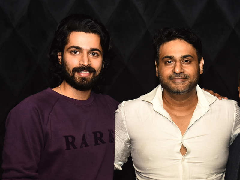 Harish Kalyan graces the launch of restobar in the city