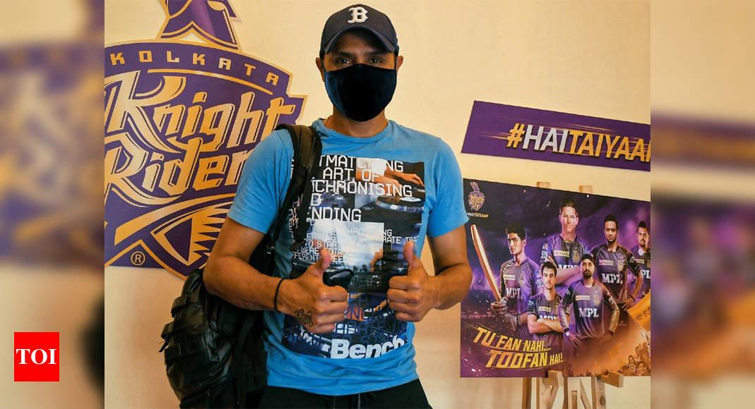'New signing' Harbhajan Singh checks in at KKR | Cricket News – Times of India