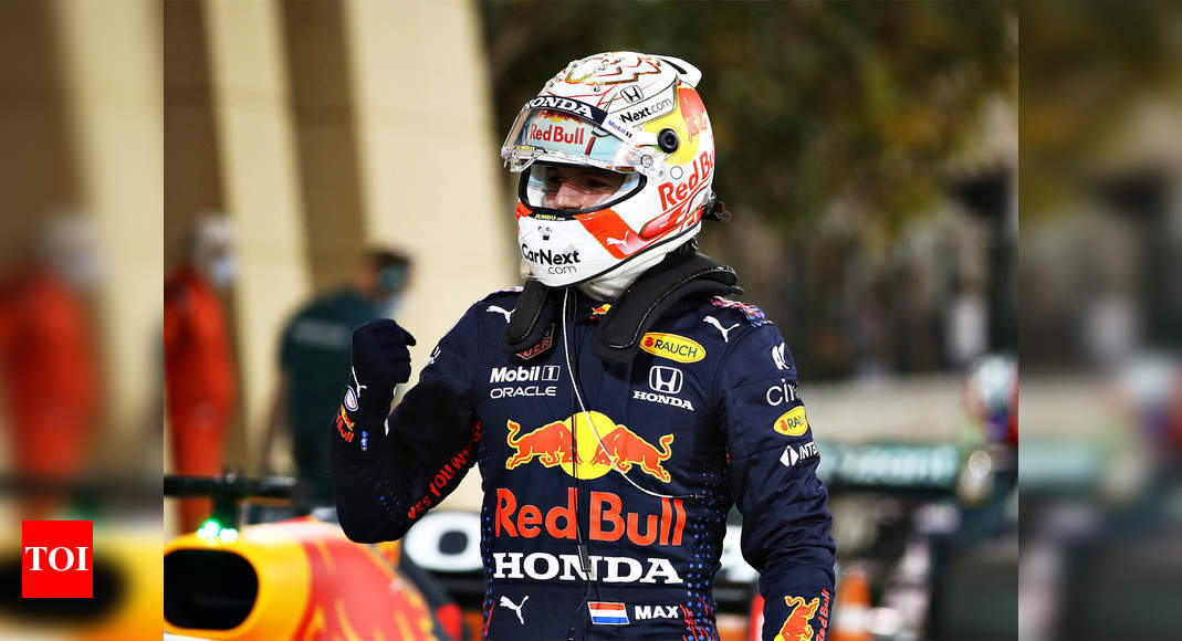 F1: Verstappen beats Hamilton to pole at season-opening Bahrain Grand Prix | Racing News – Times of India