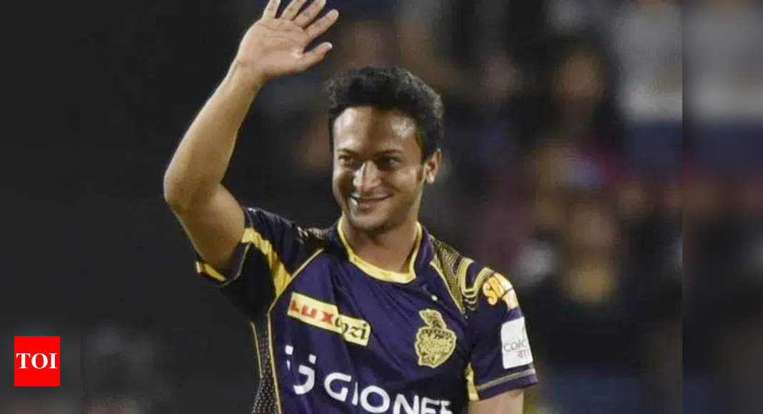 Crisis over as Shakib Al Hasan arrives in India for IPL 2021 | Cricket News – Times of India