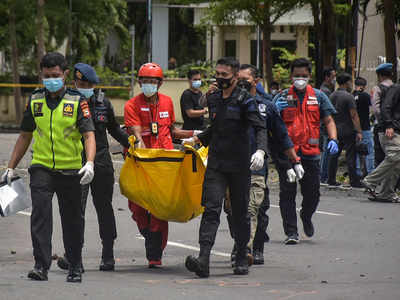 Explosion outside Catholic church in Indonesias Makassar, cordon set
