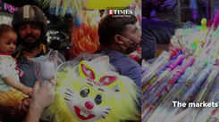 Markets get Holi ready in Lucknow