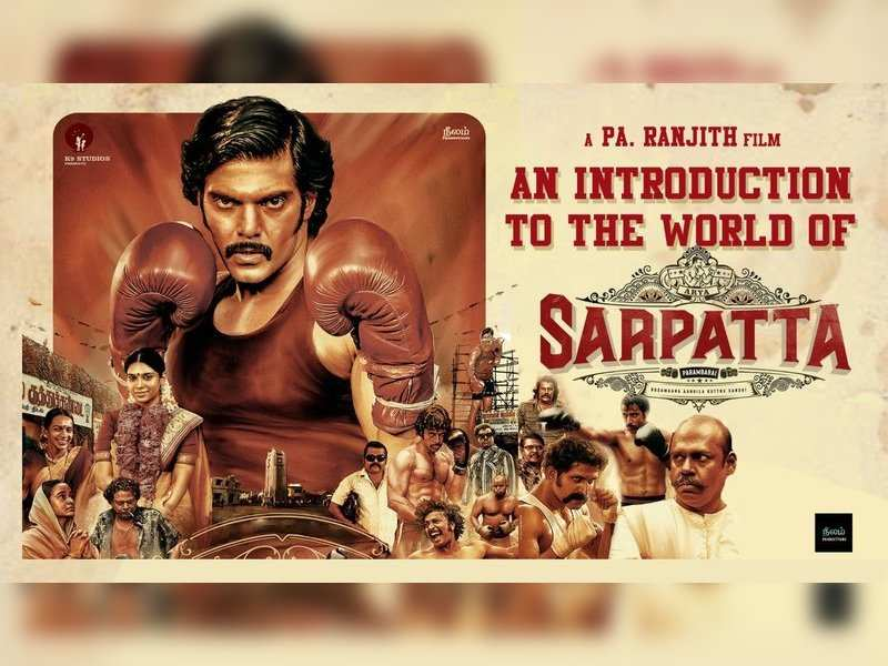 Pa Ranjith and Arya's Sarpatta characters introduced with a special video