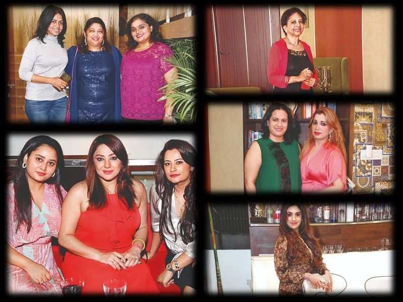 Amulya, Shilpa Ganesh and Ashwini Puneeth join pals for a fun ladies night