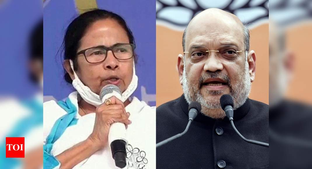 Bengal polls: BJP to win 26 out of 30 seats in first phase, says Shah; Mamata responds - Times of India