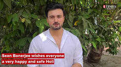 Sean Banerjee wishes everyone a very happy and safe Holi
