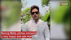 Somraj Maity wishes everyone a very happy and safe Holi