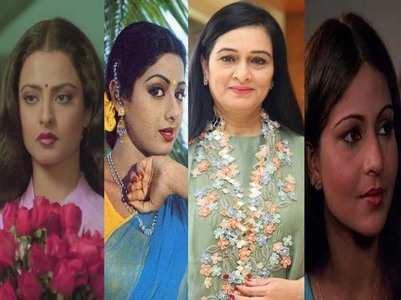 Padmini turned down roles of Rekha, Sridevi