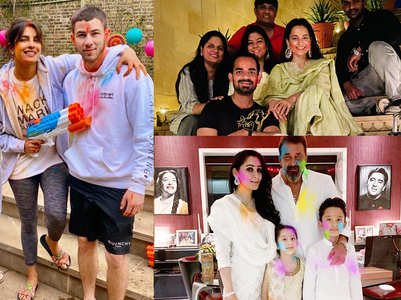 Celebs wish fans on the occasion of Holi