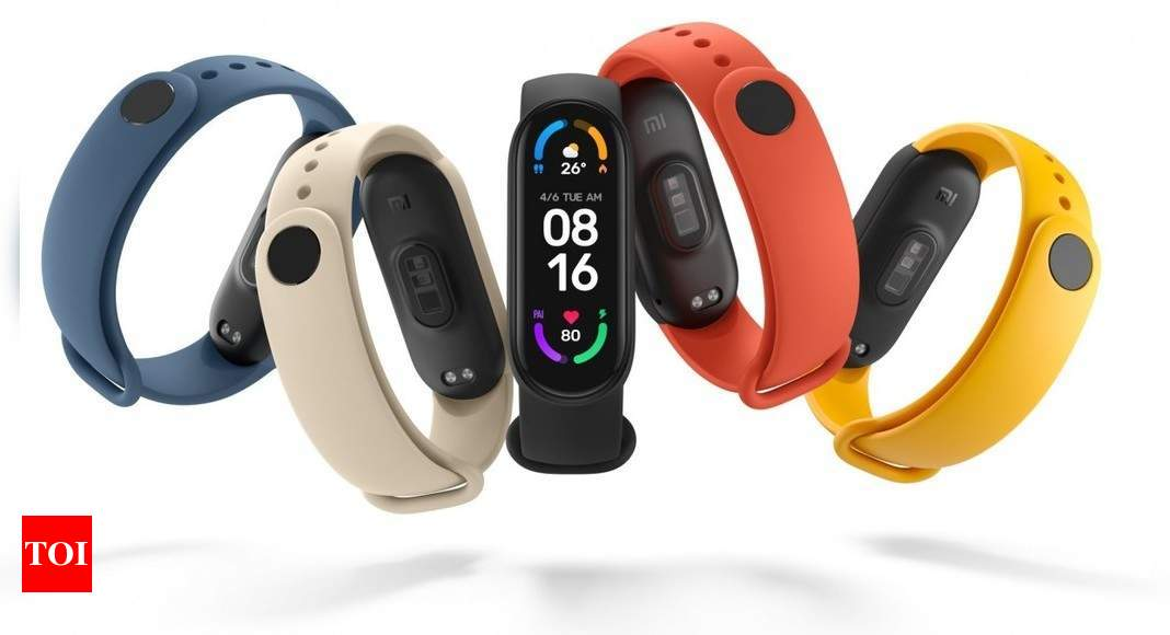 Xiaomi launches Mi Smart Band 6, Mi Smart Projector 2 Pro and wireless charging pad – Times of India
