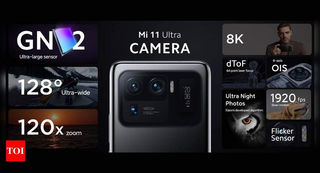 Xiaomi launches Mi 11 Ultra, Mi 11i, Mi 11 Lite and Mi 11 Lite 5G: Specs, price and more – Times of India