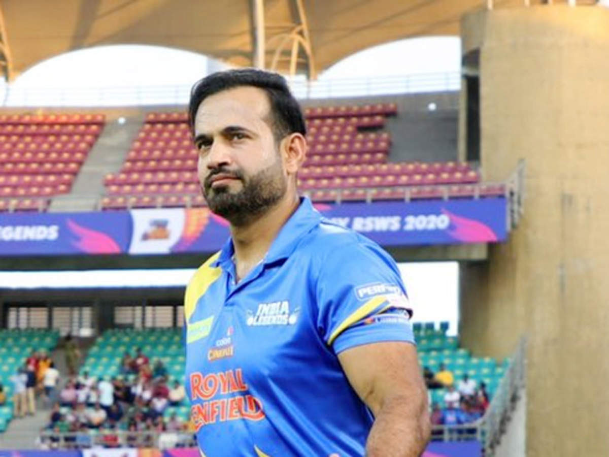 Irfan Pathan 4th player to test COVID-19 positive after playing Road Safety  World Series   Cricket News - Times of India