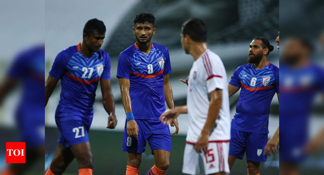 India suffer 0-6 rout against UAE in second international football friendly | Football News – Times of India