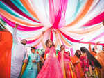 Hansika Motwani is turning heads with these stunning pictures from her brother's wedding