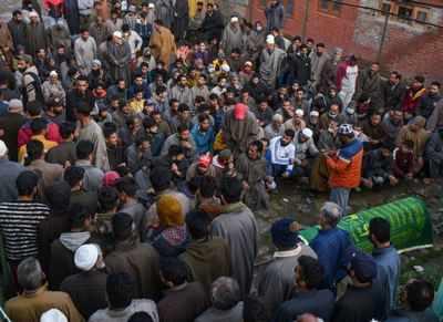 LeT attacks civic office in J&K, kills BJP net & SPO   India News