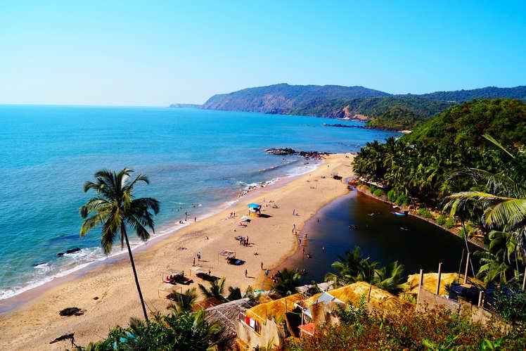 The idyllic beaches