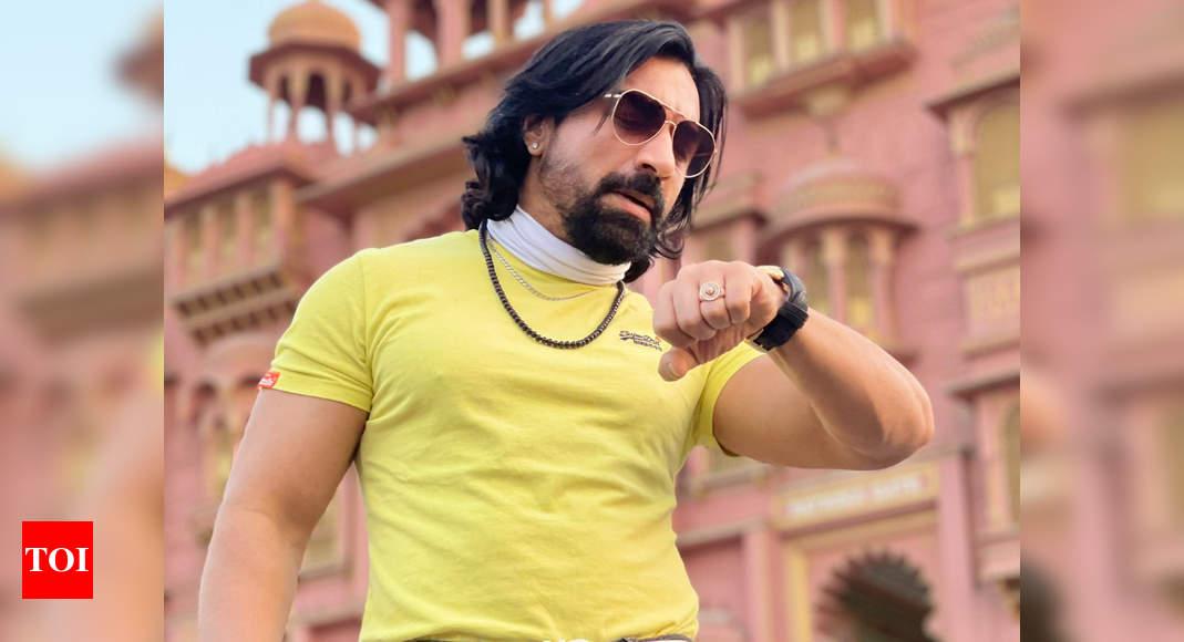 Bigg Boss 7 fame Ajaz Khan detained at Mumbai airport, NCB raids two locations - Times of India