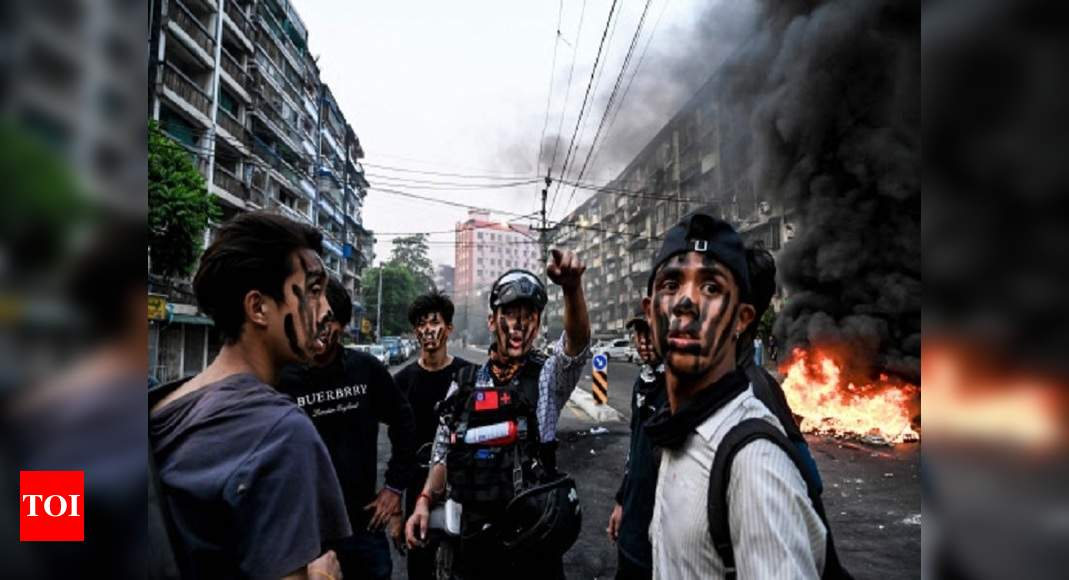 Myanmar Protests: Myanmar crackdown death toll passes 520 | World News – Times of India