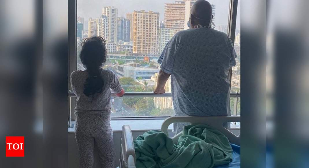 Satish Kaushik shares photo with daughter, says they are recovering from COVID – Times of India