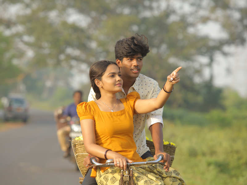 Aara and Vicky play the lead in a film on a girl's quest to get education