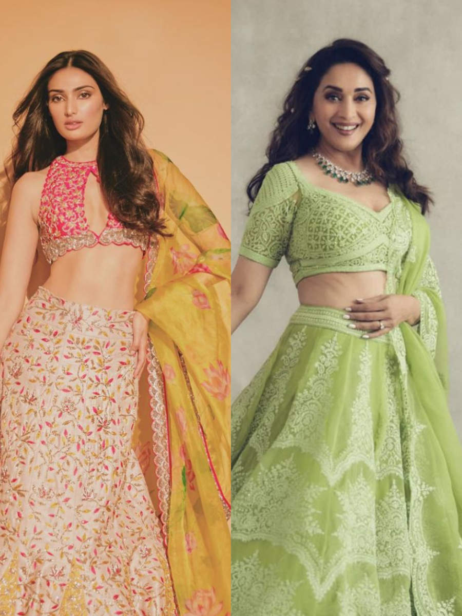 Celeb-inspired lehengas perfect for summer weddings