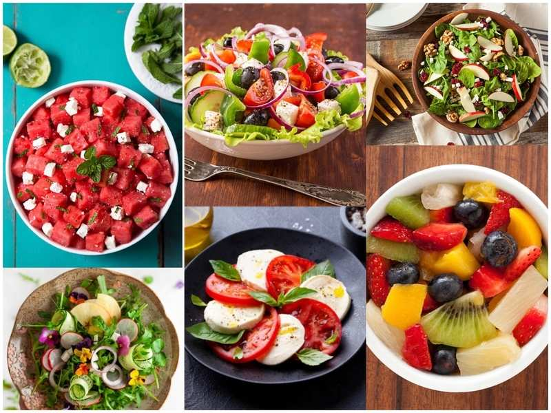 Summer salads to keep you happy and hydrated in the season