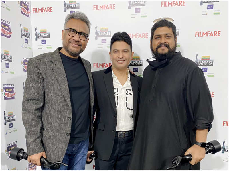 Bhushan Kumar, Anubhav Sinha and Om Raut win several accolades at the Filmfare Awards 2021