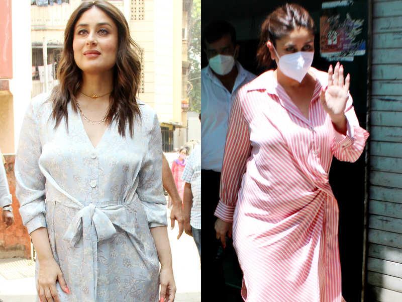 Shirt dress is the new kaftan for Kareena Kapoor Khan
