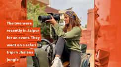 Balraj Syal and his wife Deepti Tuli enjoy jungle safari in Jaipur