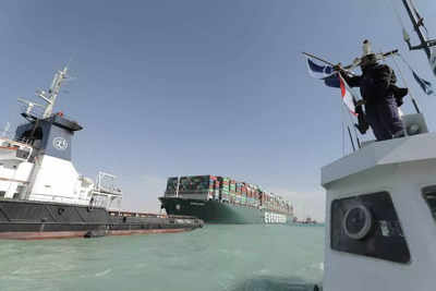 Suez Canal says close to clearing backlog after ship dislodged