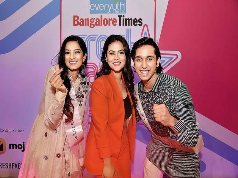 Meet the winners of Everyuth Bangalore Times Fresh Face Season 13