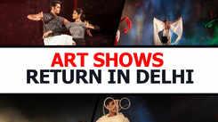 Art shows return in Delhi