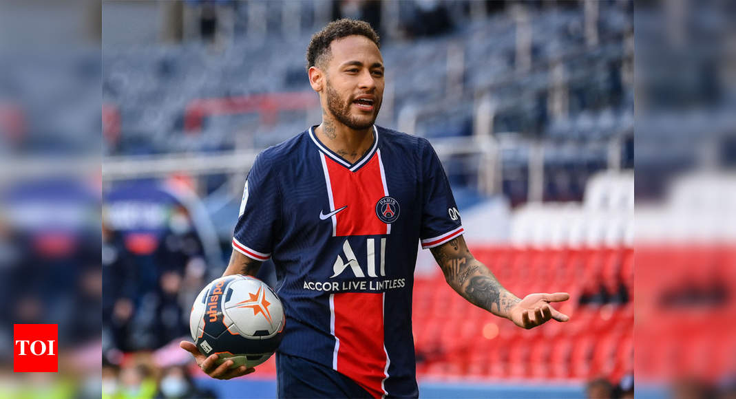 Neymar sent off as PSG lose to Lille in French title clash | Football News – Times of India